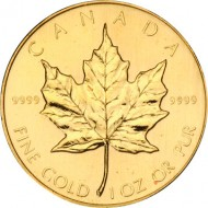 Canadian Maple Leaf Gold Coin_1oz_reverse_DillonGage (2)