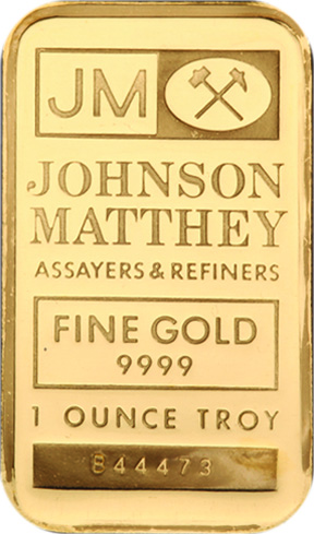 Johnson Matthey Gold Bullion Bars Silver Trading Company Llc
