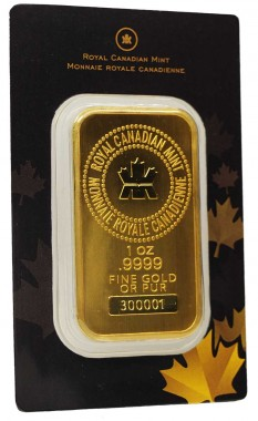Royal-Canadian-Mint-Gold-Bullion-Bar_obverse