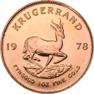 South African Krugerrand Gold Coin_1 oz_obverse_DillonGage